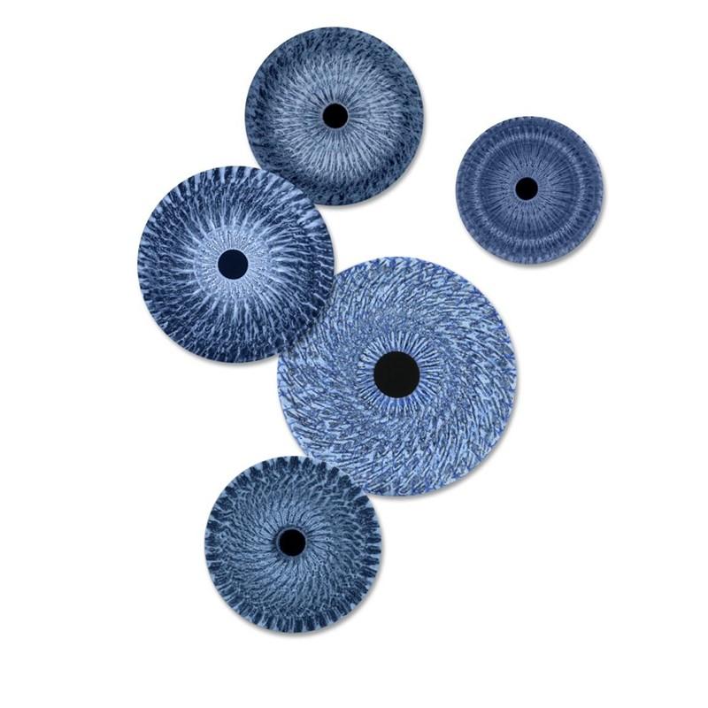 Vorticity Bloom Blue #1