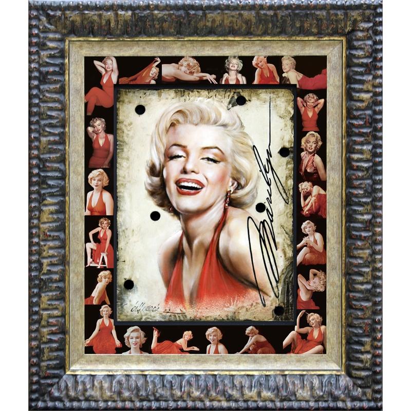 Marilyn Black Red Halter, 2018
