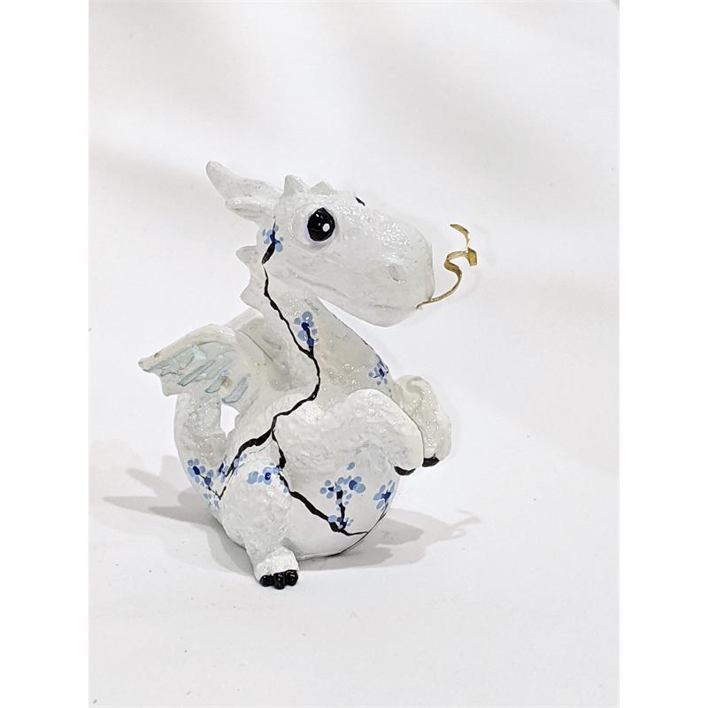 Blue China White Dragon (6/8), 2019