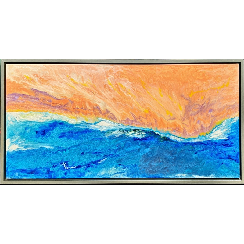 Sunsetting on the Beach, 2020
