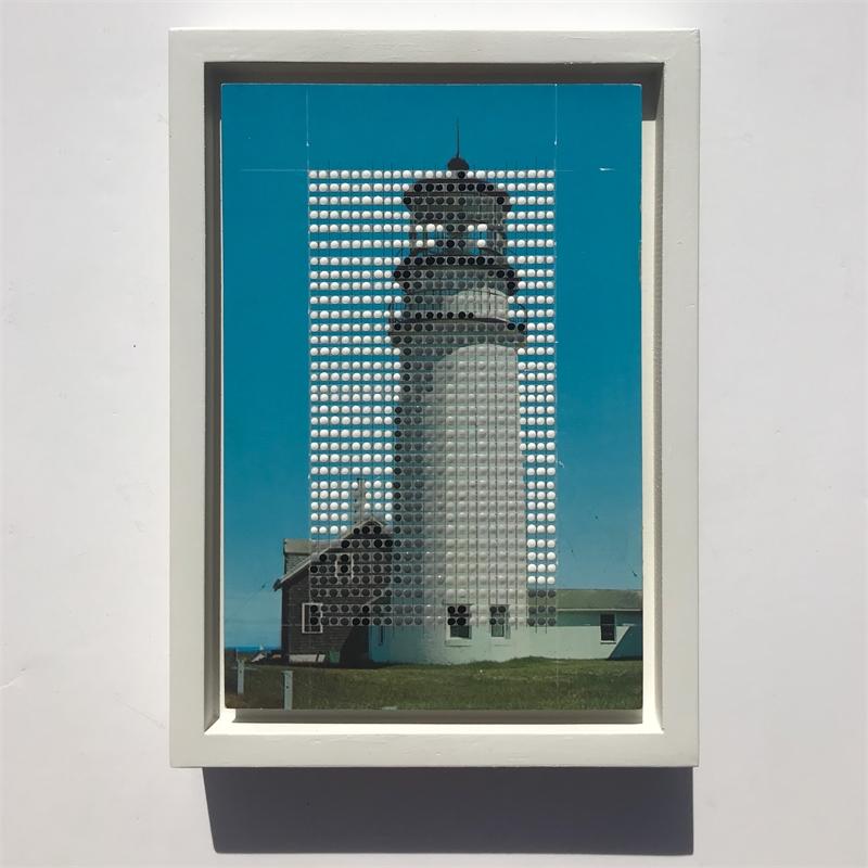 Borrowed Landscapes Study No .133 /Massachusetts, Cape Cod, Highland Light, 2020