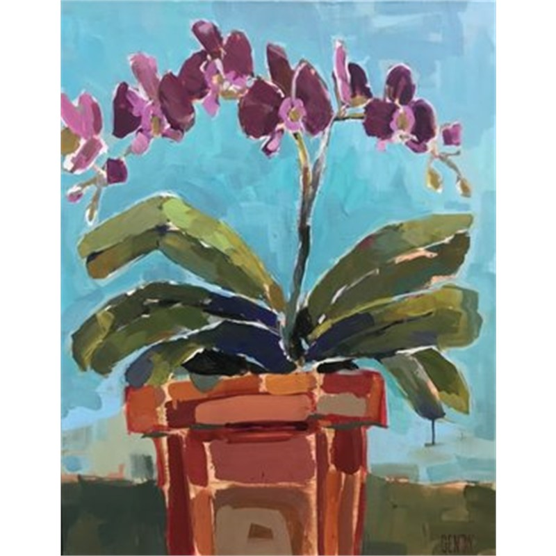Potted Purple, 2018
