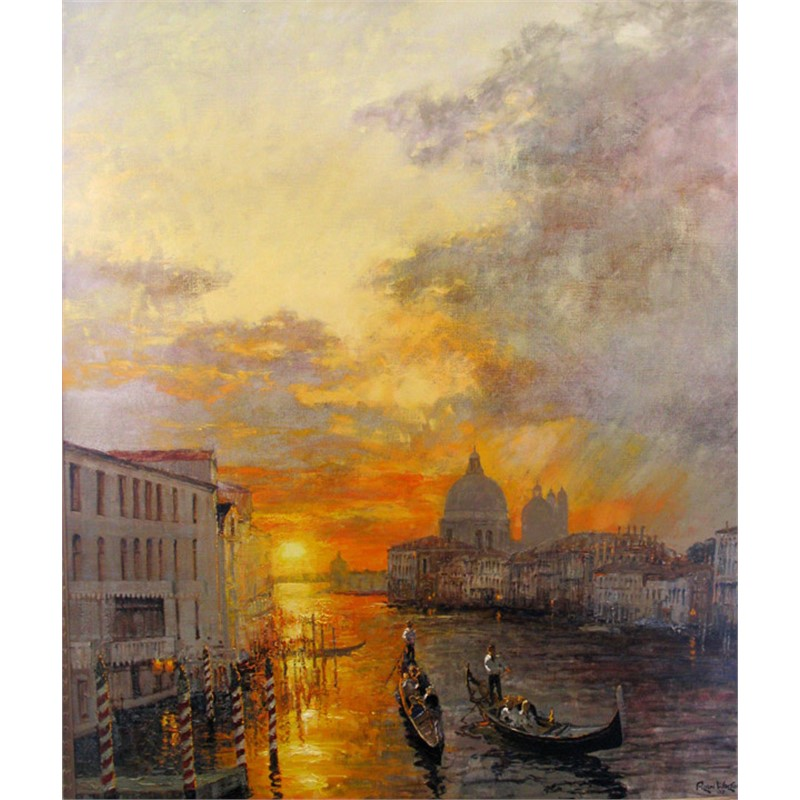 Sunrise Over the Grand Canal by Alan Wolton