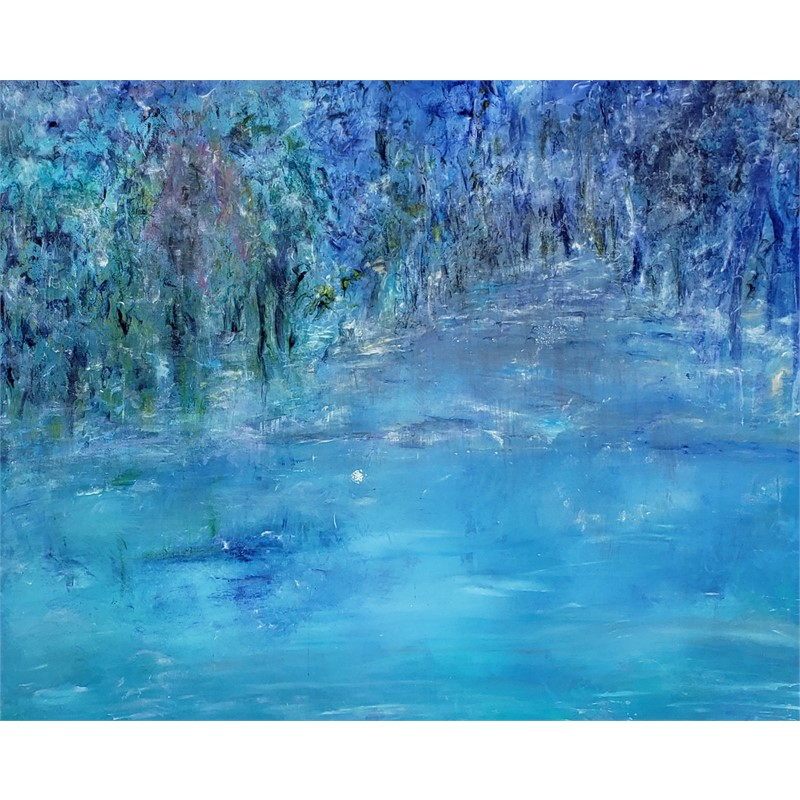 Blue Forest Acrylic , 2019