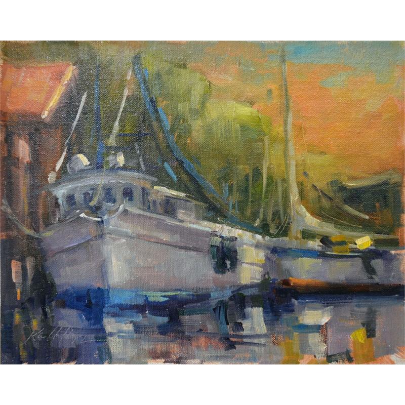 Shrimp Boat and Sail Boat