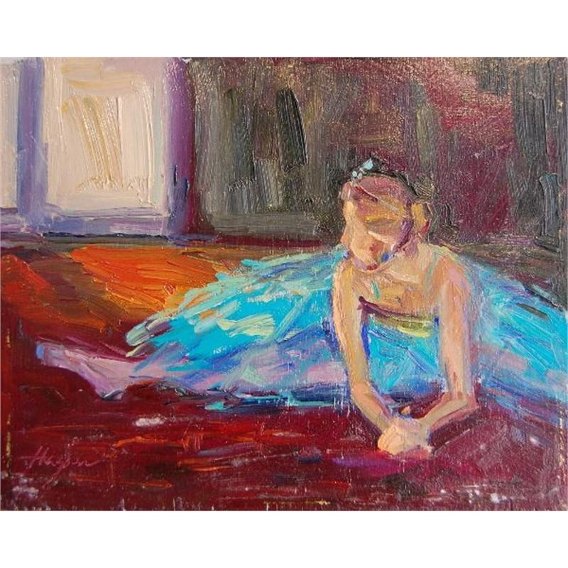 Ballerina Study Blue VI