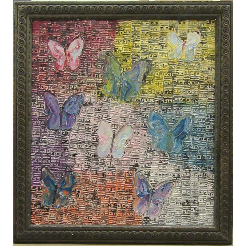 Untitled (Multicolor Butterflies, CRK01840), 2015