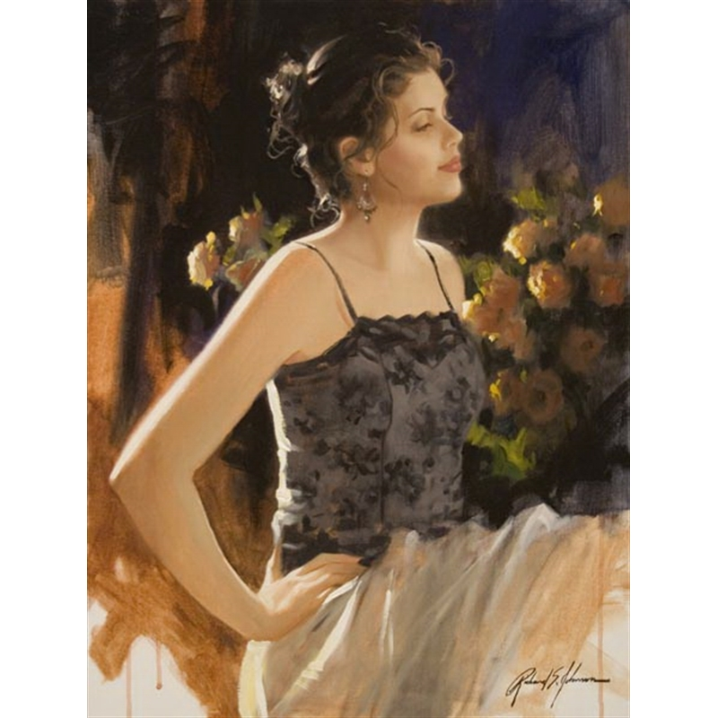 Evening Rose by Richard Johnson