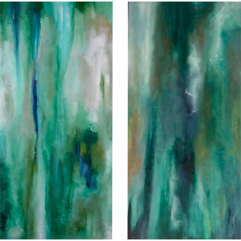 A Walk along Emerald Shores I & II, 2019