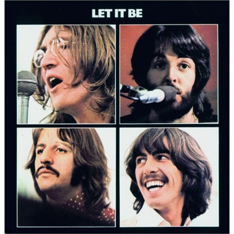 """""""Let It Be"""" - Beatles Album Cover - Hollywood Sign Commission"""
