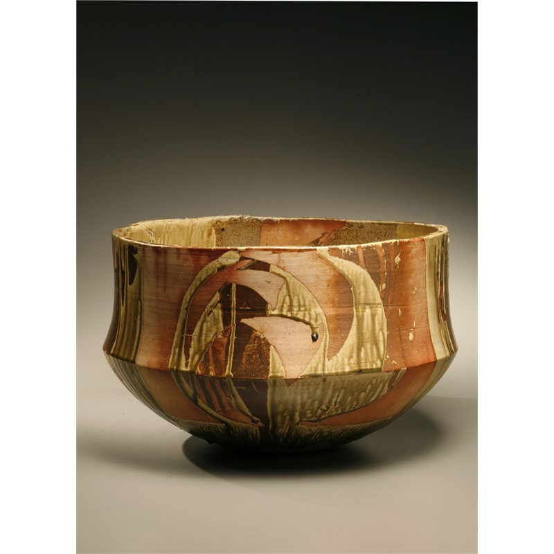 WOOD ASH GLAZED VASE, Thai, 2004