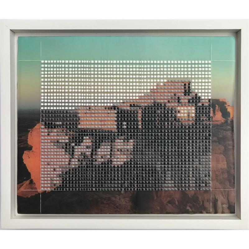 Walpi, Hopi Villages, First Mesa 1946, Monument Valley, AZ / Borrowed Landscape No.14, 2019