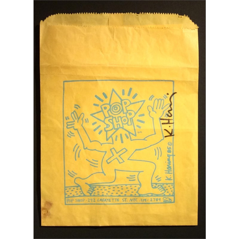 Pop Shop Bag by Keith Haring