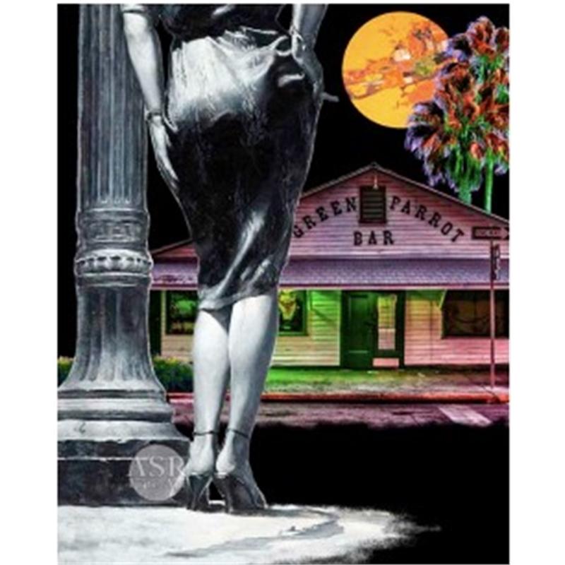Key West Noir- The Green Parrot by Adam Scott Rote