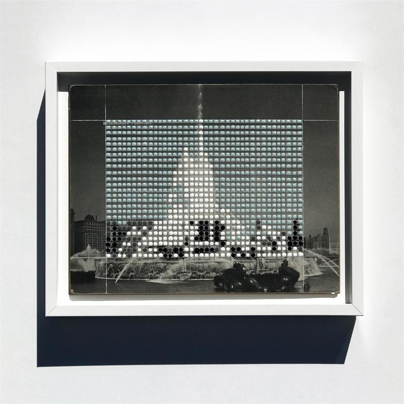 Borrowed Landscapes Study No.181/ IL, Chicago, Buckingham Fountain, 2018