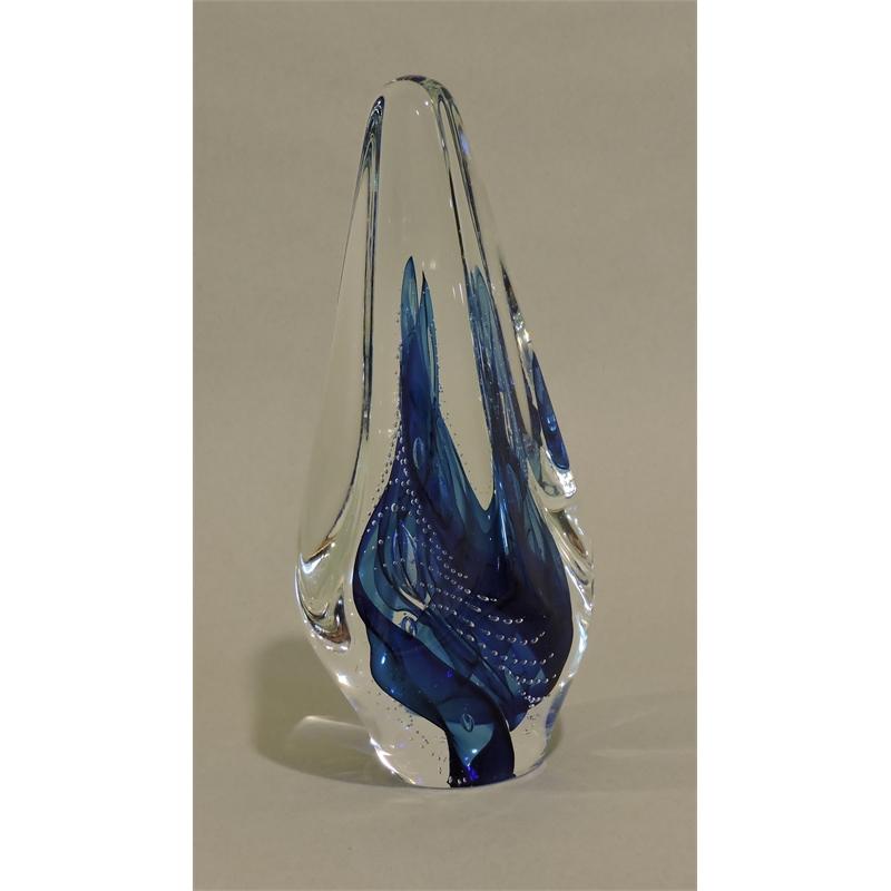 Transparent Blue 'Tetra'