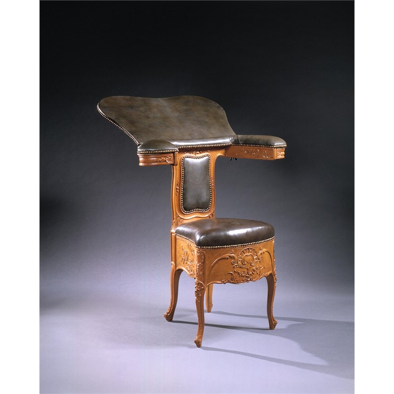 LOUIS XV ACQUARELLISTE CHAIR, French, circa 1745