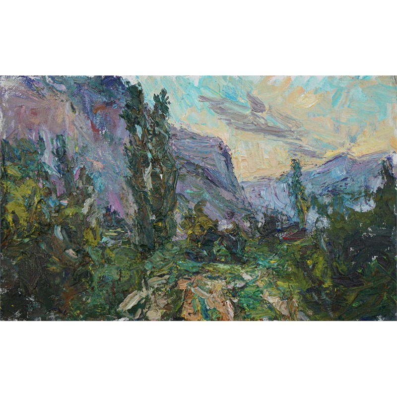 Southern Landscape (Sunrise in the Caucasus)