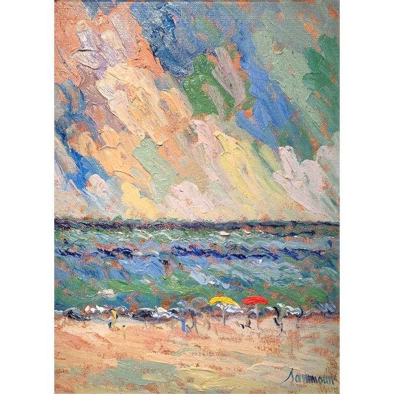 The Beach I by Samir Sammoun