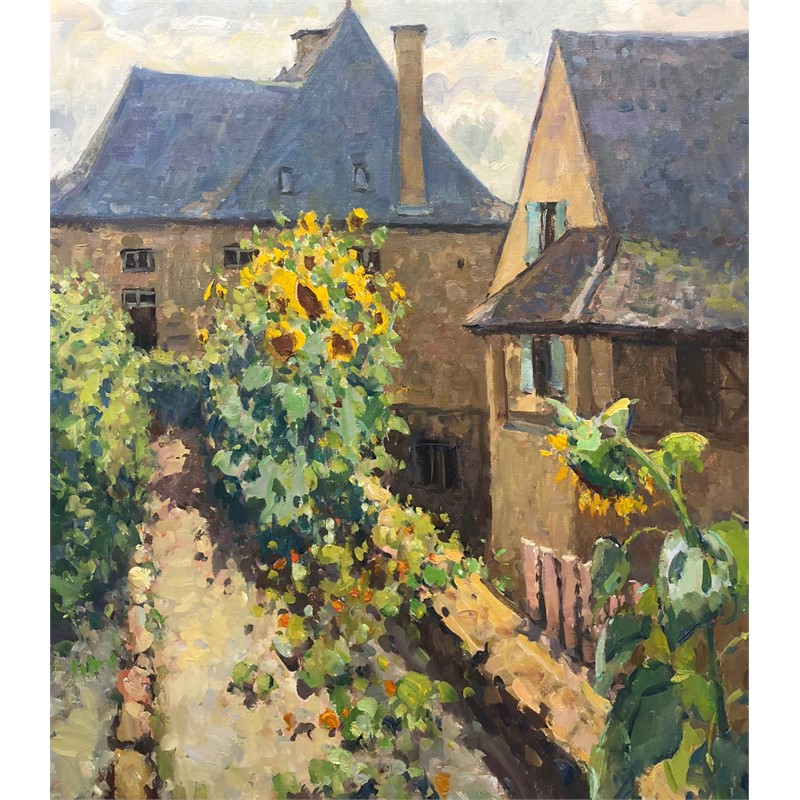 Sarlat Sunflowers