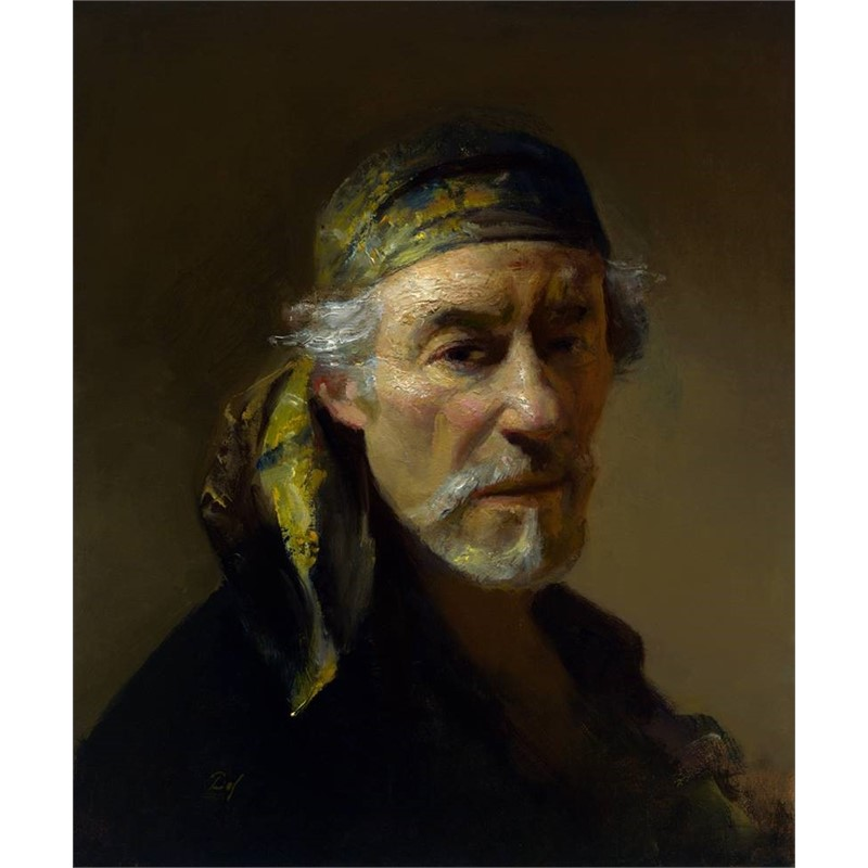 Self Portrait with Bandana