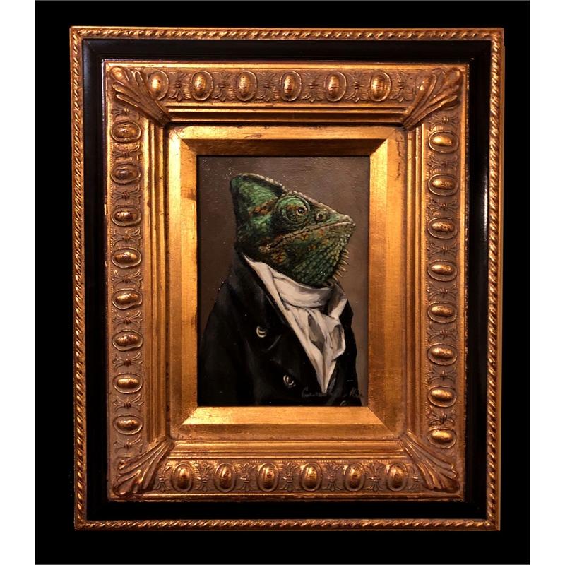 Chameleon in a  Cravat, 2020