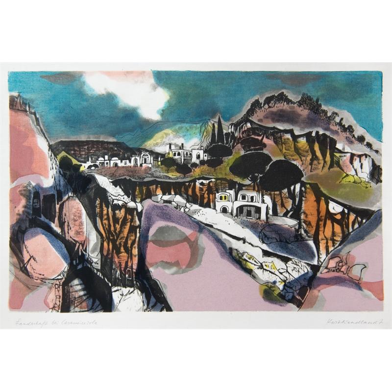 Landschaft bei Casamicciola by Kurt Wendlandt