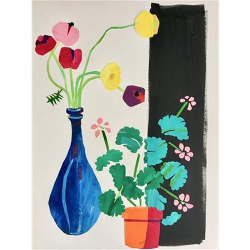 Ranunculi and Geraniums II, 2018