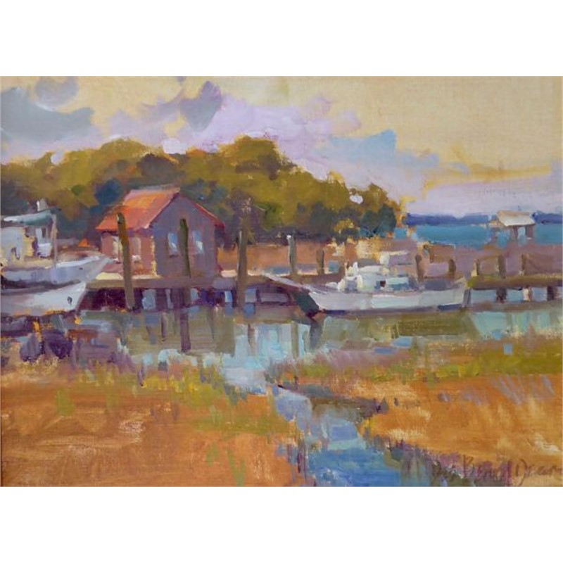 Special Commission In the Spirit of Creek, Plein Air