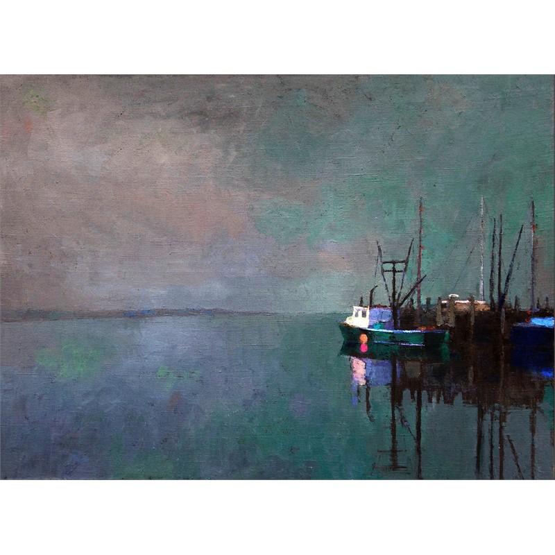 Wharf in Fog