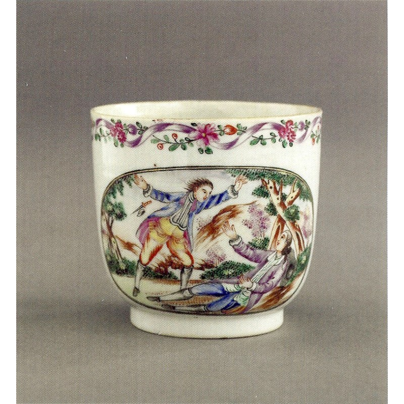 CHINESE EXPORT COFFEE CUP, Chinese, circa 1780