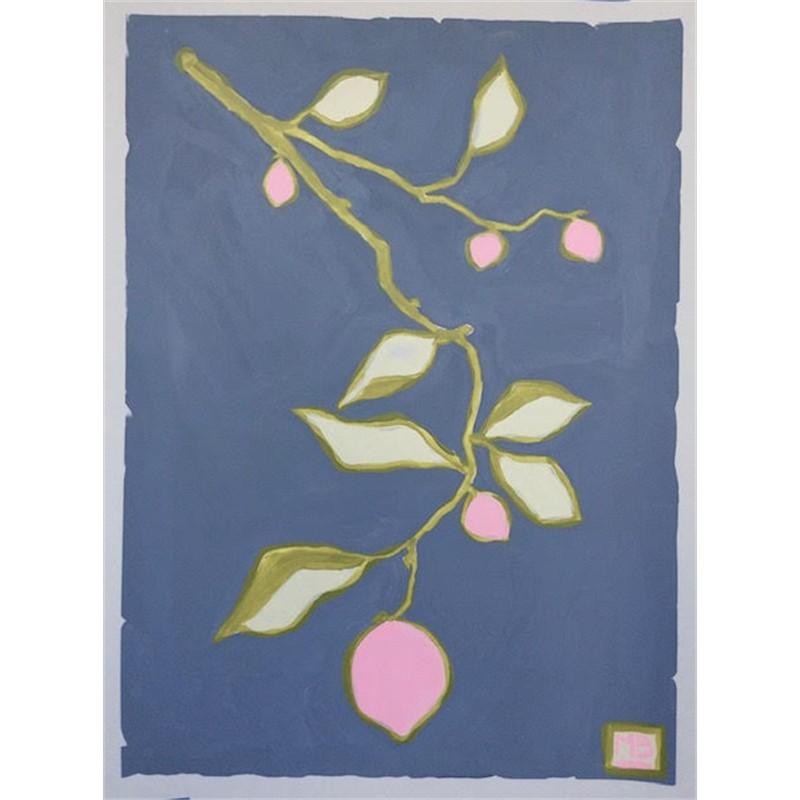 Pink Lemons on Slate, 2019