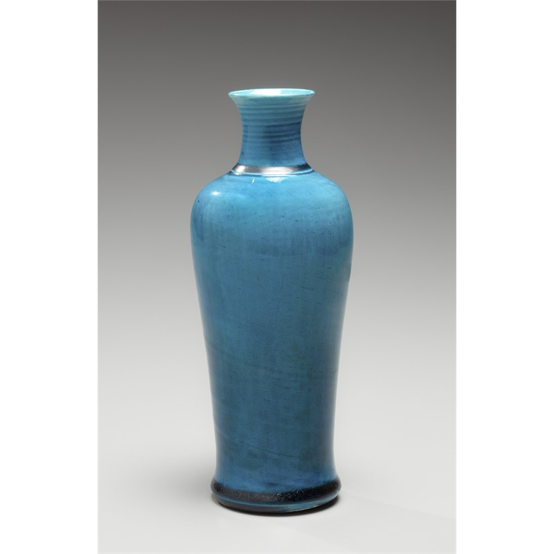 A TURQUOISE GLAZED MEIPING, 18th century