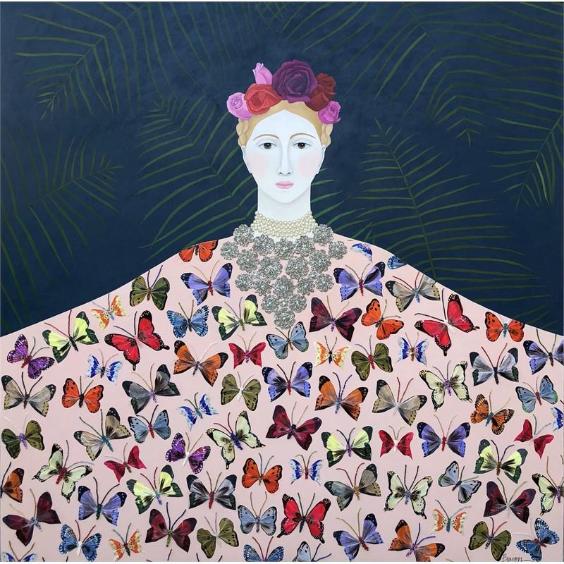 Woman in Butterfly Cape, 2019