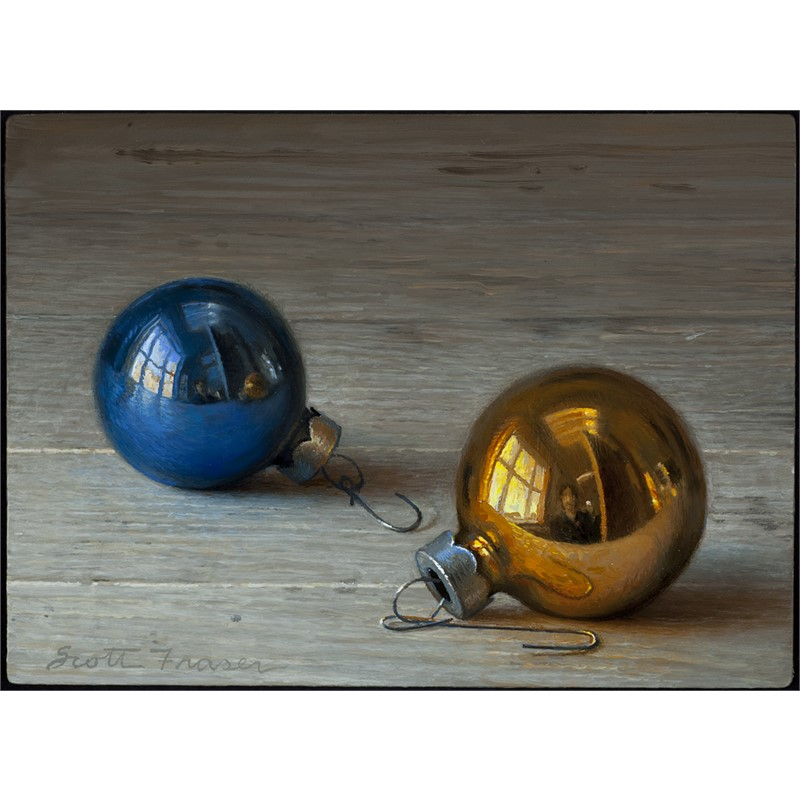 Two Ornaments