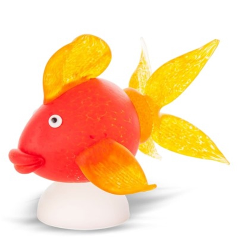 GOLDFISH QUEEN, object, red 24-14-51 by Borowski