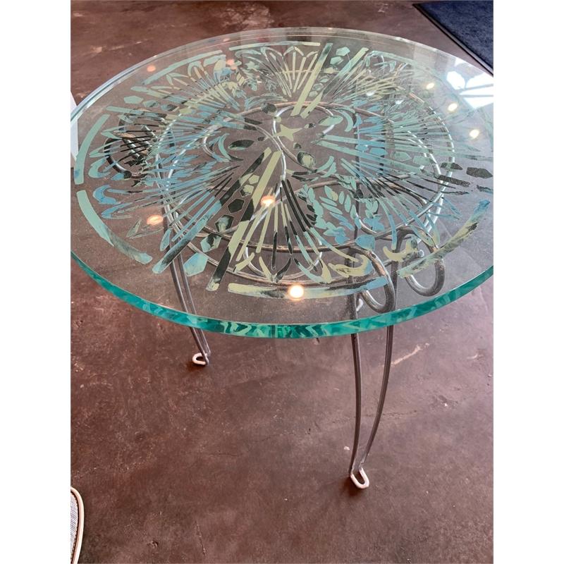 Stencil Table (Aqua)