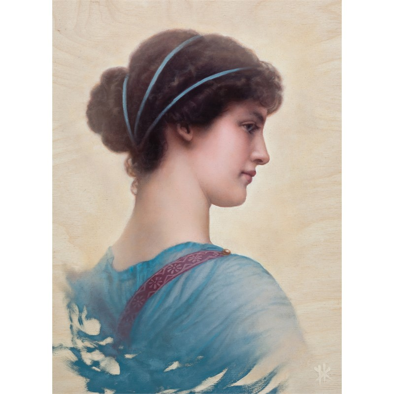 A Classical Beauty (From Godward), 2018