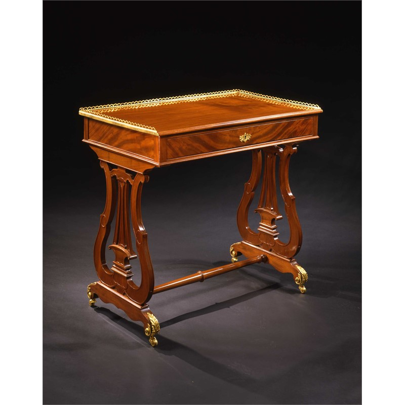 LOUIS XVI ORMOLU-MOUNTED TABLE STAMPED L. MOREAU et JME, French, circa 1780