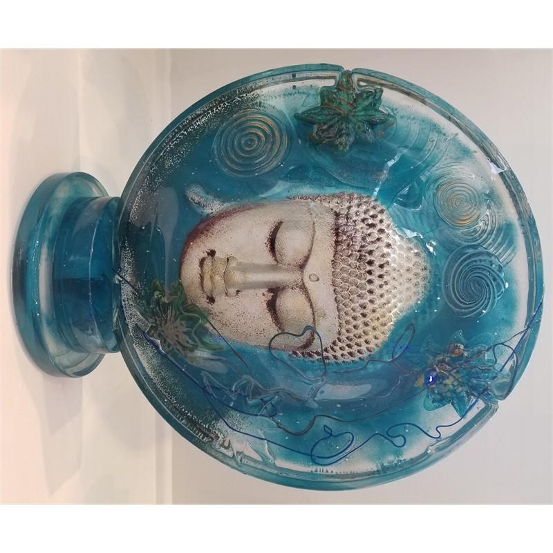 Buddha Disk Teal