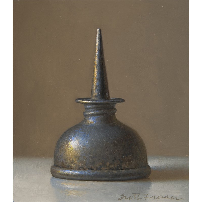 Pewter Oil Can