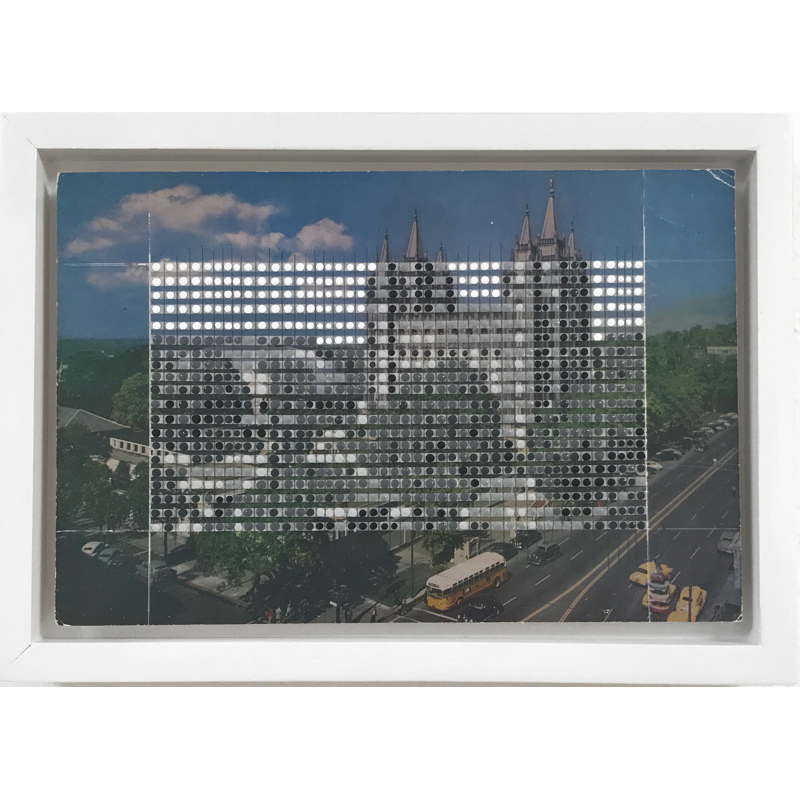 Borrowed Landscapes Study No.98/Utah, Salt Lake City, Temple Square, 2020