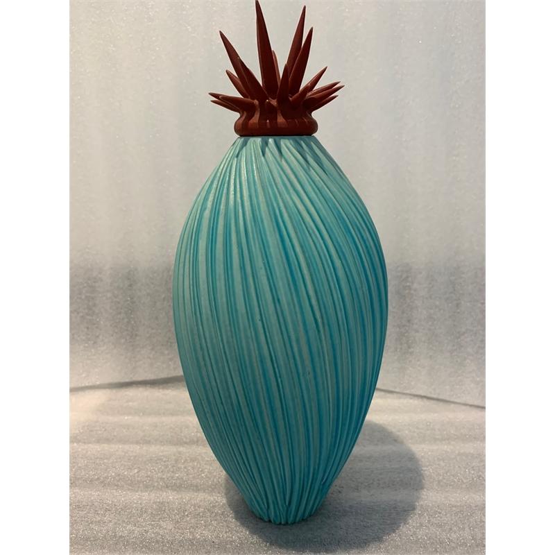 Striated Pepino with Urchin Lid