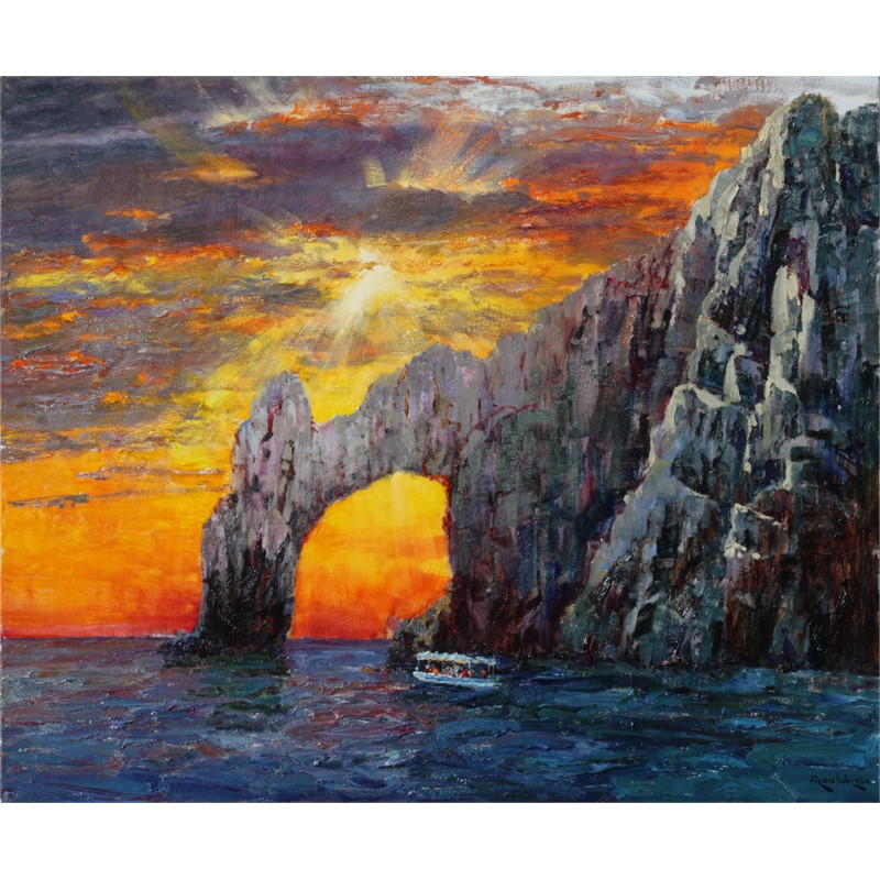 Cabo Arch by Alan Wolton