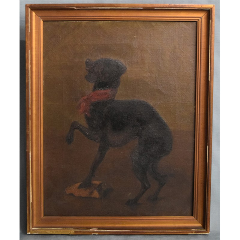 TWO FRAMED STUDIES OF DOGS
