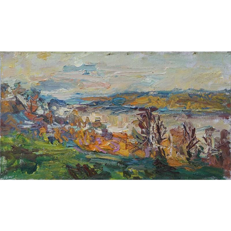 The Volga River in October