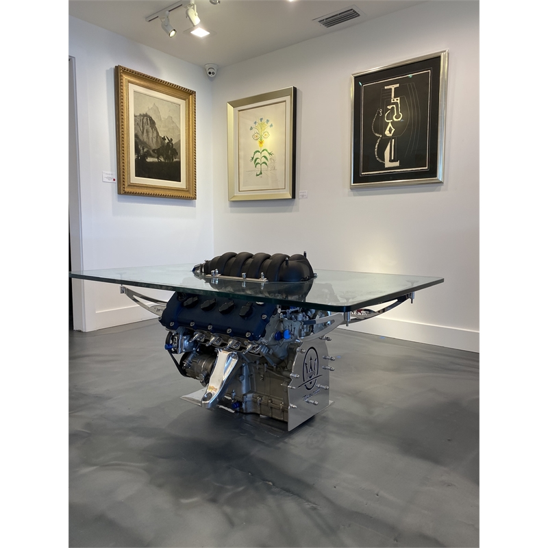 Maserati In Blue Coffee Table, 2019