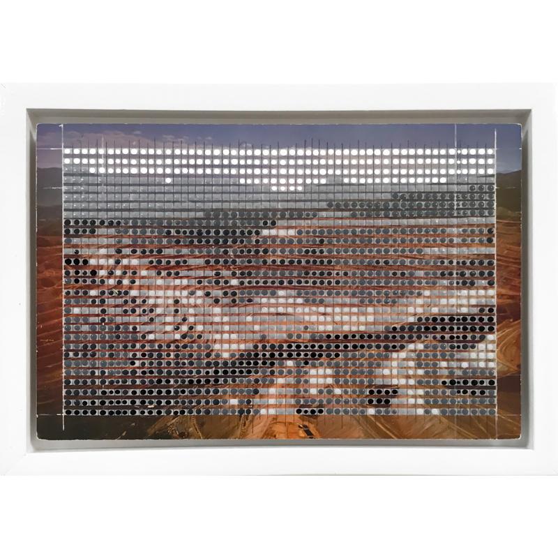 Borrowed Landscapes Study No.93/Utah, Bingham Copper Mine, 2020