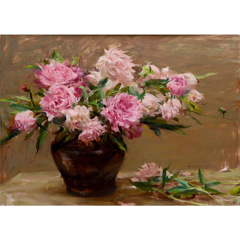 Peonies Bunch