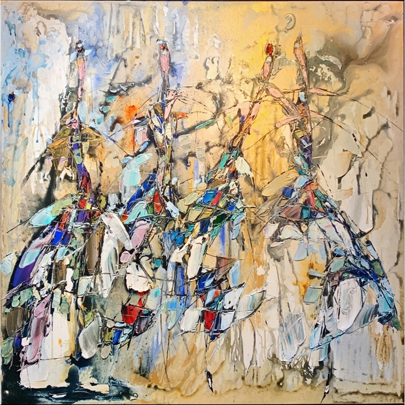 Abstract Dance by Maya Eventov